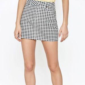 PacSun Gingham Skirt